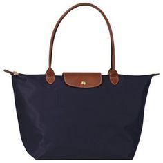 LongChamp Navy Folding bag