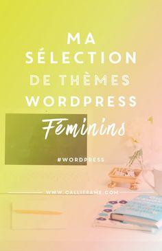 De jolies thèmes wordpress féminins pour vos projets de blog ou de site web! A découvrir dans l'article.