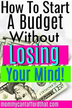 How To Start Budgeting When You're Tired And Overwhelmed How to budget your money without losing your mind. These 4 easy actionable budgeting tips will help any beginner start a budget without the overwhelm. Living On A Budget, Family Budget, Frugal Living, Budgeting Finances, Budgeting Tips, Ways To Save Money, Money Saving Tips, Saving Ideas, Money Tips