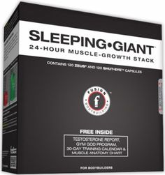 Fusion Bodybuilding SLEEPING GIANT - 24 HOUR GROWTH - Now Only $107.99 SAVE 23% Build Muscle, Muscle Building, Muscle Anatomy, Words Of Encouragement, Make It Simple, Bodybuilding, Sleep, Weight Loss, Bottle