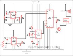 police siren circuit using ne555 timer circuit diagram police audio equalizer circuit diagram the circuit presented here is used to change the tune