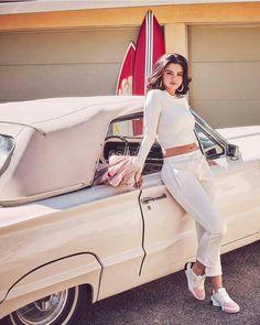 Selena Gomez X Puma Cali Remix Fearless and Free 2019 Selena Gomez 2019, Estilo Selena Gomez, Selena Gomez Photoshoot, Selena Gomez Cute, Selena Gomez Outfits, Selena Gomez Pictures, Selena Gomez Style, Selena Gomz, Selena Gomez Wallpaper
