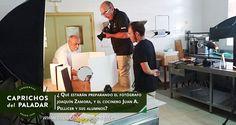 ¿Qué estarán preparando el Fotógrafo Joaquin Zamora y el Cocinero y profesor de Cocina Juan Antonio Pellicer y sus alumnos de la Escuela de Hostelería del IES La Flota de Murcia?
