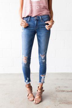 466a93d90bde0a 50 Best bohme // denim images in 2019 | Distressed skinny jeans ...
