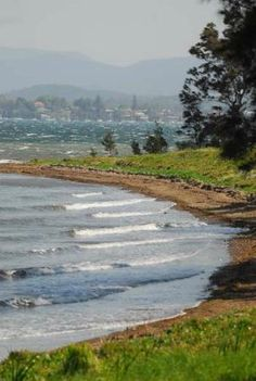 Lake Macquarie: Green Point view New South Wales #Australia