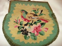 60.00 off Original Etsy Price - Treasury Item - 1920's Rare Masterpiece: Bird…