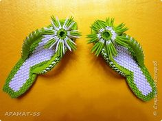Mistrz klasy produkt chiński Craft Paper origami modułowe Sandały zdjęcie 1 3d Origami Ei, Origami Artist, Modular Origami, Origami Paper, Diy Paper, Paper Crafts, Origami Animals, Origami Flowers, Origami Tutorial