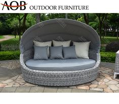 Outdoor Modern Garden Hotel Resort Home Villa Rattan Wicker Furniture Sun Lounger Daybed Sunbed Sofabed Material : Rattan. Frame Material : Aluminum. Style : Modern. Usage : Hotel, Hospital, School. Usage : Hotel, Hospital, School, Resort, Villa, Garden, Swimming Pooside,Patio. Disassembly : Disassembly. Color : Grey. Customized : Customized. Condition : Hot Sale. Warranty : 2years or 3years or 5 Years as Requests. After Sales : All Complains Handle Within 1-3 Days. MOQ : 5 Sets. Main Material : Rattan Daybed, Outdoor Daybed, Wicker Furniture, Outdoor Furniture, Outdoor Decor, Resort Villa, 5 Years, Sun Lounger, Patio