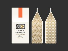 Lion & Dragon Coffee Packaging