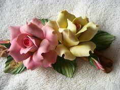 Porcelain Capodimonte Flowers