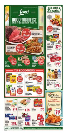 Lowes Weekly Ad September 28 - October 4, 2016 - http://www.olcatalog.com/grocery/lowes-weekly-ad-circular.html