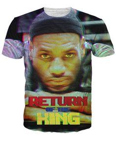 Lebron James: Return Of The King T-Shirt