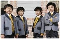 Aww~<3 They're even more cute when they're little!! >///< The F4 boys from Boys Over Flowers!