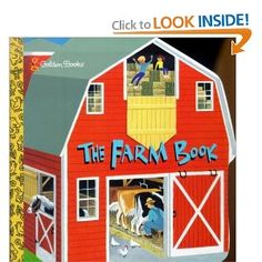 the farm book--Just got this for Elyse, it was one of my favorite books when I was little. I also ordered A day at the Farm little golden book which was another favorite of mine! So excited to read them to her! The Farm Book, The Book, Toddler Books, Childrens Books, Earth Book, Margaret Wise Brown, Build A Greenhouse, Shape Books, Read Aloud Books