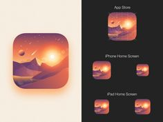 Icon exploration for Walli in progress.  App available on the Playstore now and coming soon on iOS.  Feel free to give some L.  TWITTER | INSTAGRAM