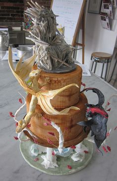 Game Of Thrones Wedding Cake | When Geeks Wed