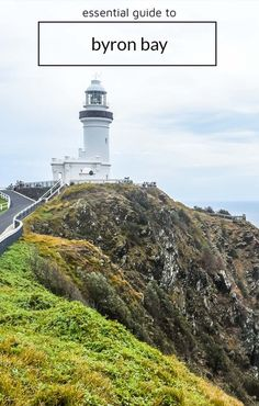 Byron Bay Lighthouse on Cape Byron. The best things to do, places to eat, and places to drink in Byron Bay. Coast Australia, Visit Australia, Australia 2017, Travel Couple, Family Travel, Australia Travel Guide, Packing, New Zealand Travel, Great Barrier Reef