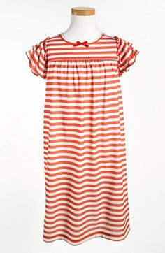 so cute!!!! Tucker + Tate Stripe Nightgown (Toddler Girls & Little Girls) available at #Nordstrom