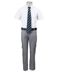 Mtxc Men's Bleach Cosplay Karakura High School Summer Uniform 2nd Size Medium White Mtxc http://www.amazon.com/dp/B00NXX69Q0/ref=cm_sw_r_pi_dp_tl0Qub11TZVBR
