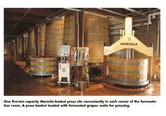 Robert Mondavi Wine Production in California