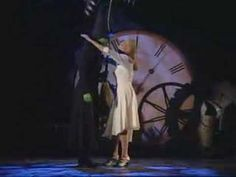 "Idina Menzel and Kristin Chenoweth performing ""Defying Gravity"" from 'Wicked' at the Tony Awards. Theatre Geek, Broadway Theatre, Musical Theatre, Broadway Shows, Broadway Wicked, Defying Gravity, Idina Menzel, Wizard Of Oz, The Book"