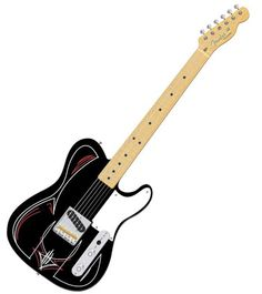 Pinstriped Telecaster