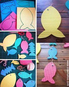 ❀ ✄ DIY Bricolage Poissons Avril Enfants / DIY April Fools Day Craft ✄ ❀