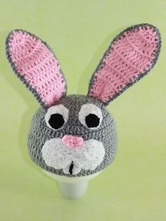Fun Holiday Crafts   Crochet Bunny Hat for Kids   http://www.funholidaycrafts.com