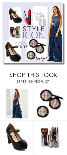 """""""rosegal"""" by sejla15 ❤ liked on Polyvore featuring Revlon"""