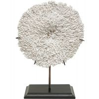 Coral Plate on Stand