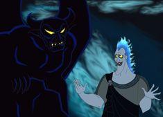 Hades and Chernabog by Artemysia [©2007-2014 artemysia]