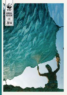 World Wildlife Foundation Annual Report 2014 cover design