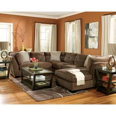 2099 at Costco looks comfy Vanessa Fabric Sectional Living