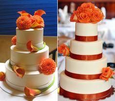 Képek! 9 csodaszép torta őszi esküvőre.