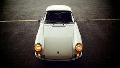 Classic Right Hook 911. One of the few cars that looks good in white.