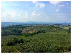 The views from the castle were amazing!!  Castillo di Poppiano