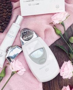 Step up your at home facial with the latest in beauty devices Galvanic Facial, Galvanic Body Spa, Ageloc Galvanic Spa, Beauty Box, Beauty Secrets, Beauty Skin, Face Treatment, Body Treatments, Beauty Packaging