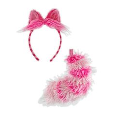 Amazon.com: Disney - Cheshire Cat Ears and Tail Set Adult [Toy]: Toys & Games