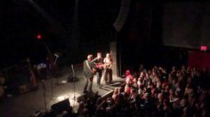 Union transfer show- lone bellow, two unplugged songs. one of the best experiences.