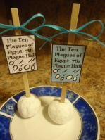 The Ten Plagues of Egypt Hail Donuts Recipe 7th plague
