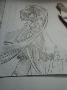 redraw hatsune miku by  me note: this picture isn't finished  at this time
