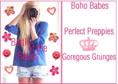 """battle of the babes"" by xoxo-arianna ❤ liked on Polyvore"