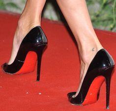 """Kate Moss in Stunning Christian Louboutin """"Rom"""" Fringe Booties"""