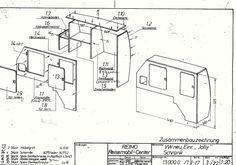 Vw camper interior plans wall ma volkswagen beetle 1949 to 1977 T4 Vw, Vw T3 Westfalia, Vw T5 Interior, Campervan Interior, Vw Camper, Camper Drawing, Transporter T3, Vw Lt, Kombi Home