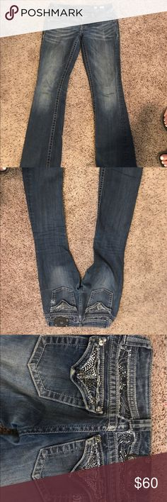 miss mes size 26 diamond miss mes good condition Miss Me Pants Straight Leg