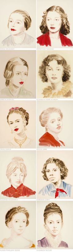 beautiful portraits by Annie Kevans.
