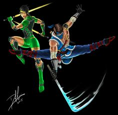 Killer Instinct: Orchid and Jago III by:DHK88 #∆∆shani