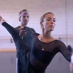 """Tomorrow is the last chance to see our """"illuminating double bill of important ballets"""" (Financial Times) featuring #ENBSong and #ENBSylphide at @mktheatre before touring to London. See our dancers in rehearsals for Kenneth MacMillan's powerful Song of the Earth. 👀    #songofthearth #lasylphide #kennethmacmillan #augustbournonville #ballet #dance #rehearsal #ENBdancers #englishnationalballet #lastchance #miltonkeynes #doublebill"""