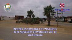 Asociación de Voluntarios Isleños de San Fernando. EXPROTEC.: ROTONDA DE LOS VOLUNTARIOS