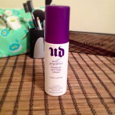"Retail Review: BEST makeup setting spray out there. Urban Decay ""All Nighter"" found at Sephora $29.00 and totally worth it."